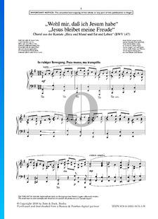 Wohl mir, dass ich Jesum habe - Jesus bleibet meine Freude, BWV 147