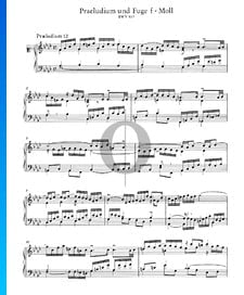 Prélude 12 Fa mineur, BWV 857