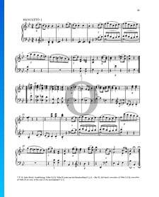 Klaviersonate Nr. 4 Es-Dur, KV 282 (189g): 2. Menuetto