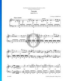 Sonate en Mi bémol Majeur, WoO 47 No. 1: 1. Allegro cantabile