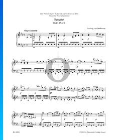 Sonate in Es-Dur, WoO 47 Nr. 1: 1. Allegro cantabile