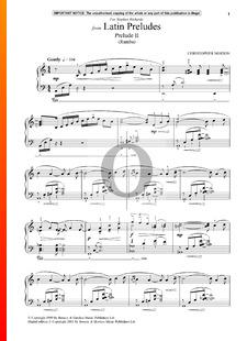 Latin Preludes 1: Prelude 2 (Rumba)