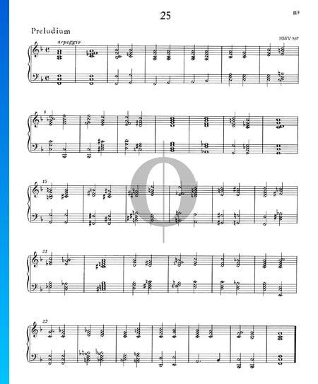 Präludium F-Dur, HWV 567 Musik-Noten
