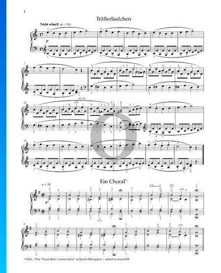 Ein Choral, Op. 68 No. 4 Musik-Noten