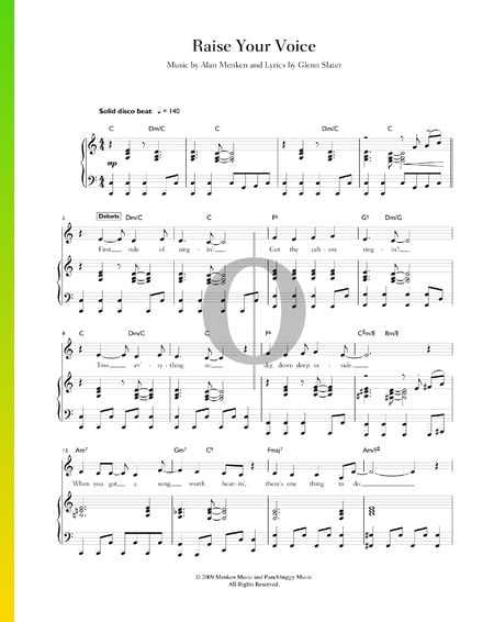Raise Your Voice Sheet Music