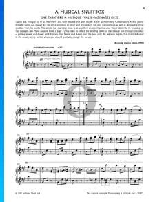 A Musical Snuffbox, Op. 32