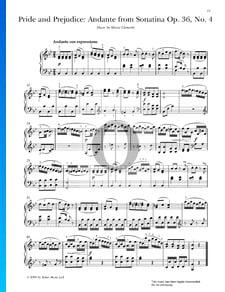 Sonatina F-Dur, Op. 36 Nr. 4: 2. Andante con espressione