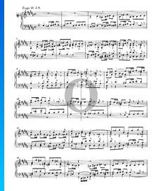 Fugue 18 Sol dièse mineur, BWV 863