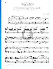 Danza noruega, Op. 35, n.º 2