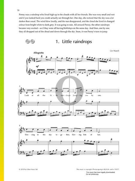 Little Raindrops Sheet Music