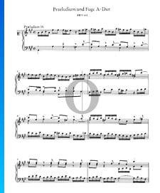 Prelude 19 A Major, BWV 864