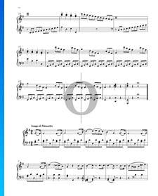 Sonata fácil, Op. 49 n.º 2: 2. Tempo di Minueto