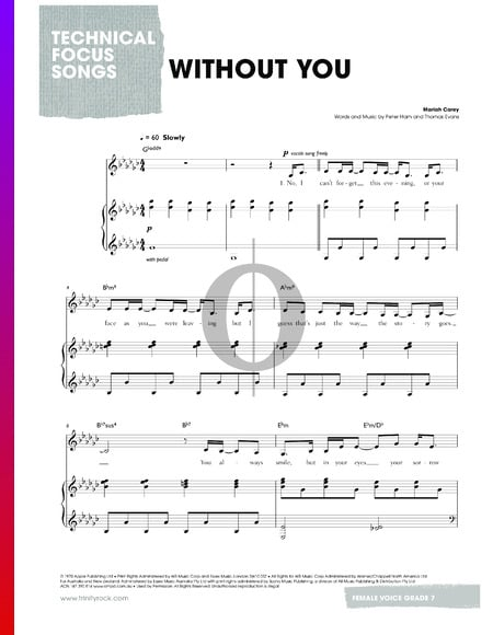 Without You Musik-Noten