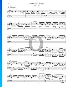 Suite n.º 4 en mi menor, HWV 429: 1. Allegro