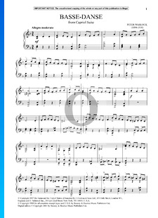 Capriol Suite: 1. Basse Danse