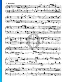 Französische Suite Nr. 1 d-Moll, BWV 812: 2. Courante