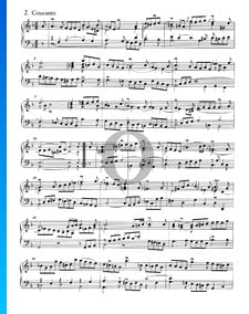 Suite Française No. 1 Ré mineur, BWV 812: 2. Courante
