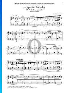 Spanish Preludes: 5b. Postludio Arcaizante (Archaic Postlude)