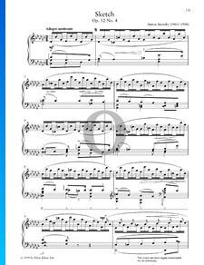 Sketch, Op. 52 n.º 4