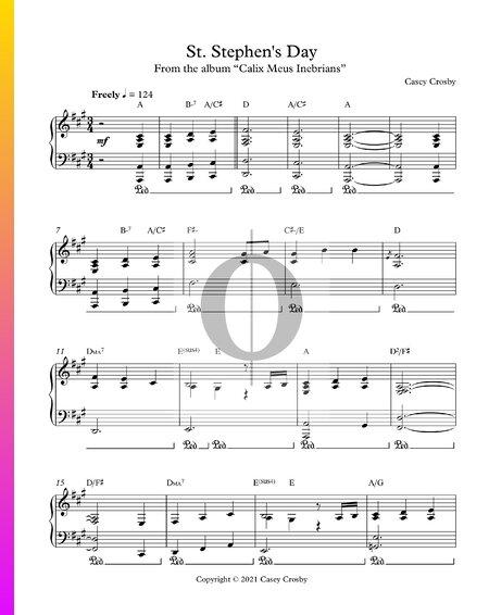 St. Stephen's Day Sheet Music