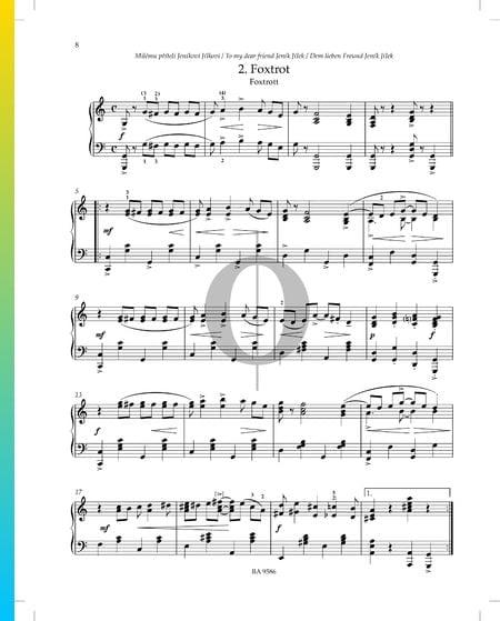 Foxtrot (the dear friend Jeník Jílek) Sheet Music