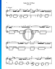 Suite n.º 2 en fa mayor, HWV 427: 1. Adagio