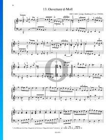 Overture D Minor, HWV 448/1