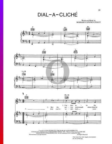 Dial-A-Cliché Musik-Noten
