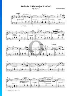 Vals en la bemol mayor, Op. 69 n.º 1 (Vals del adiós)