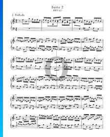 Suites Anglaises No. 2 en La mineur, BWV 807: 1. Prélude
