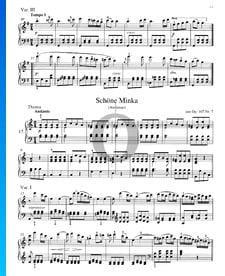 Canción popular rusa - Schöne Minka, Op. 107 n.º 7