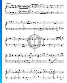 Concierto en sol mayor, BWV 592a: 2. Grave