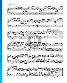 Partita 1, BWV 825: 2. Allemande
