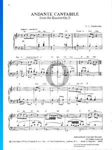 Streichquartett Nr. 1 D-Dur, Op. 11: 2. Andante cantabile