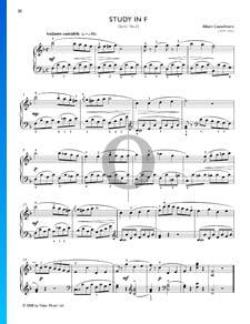 Estudio en fa mayor, Op. 65 n.º 25