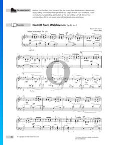 Waldszenen; Op. 82: Nr. 1 Eintritt