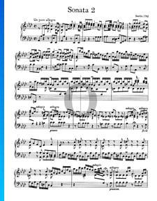 Sonata n.º 2, Wq 49: 1. Un poco allegro