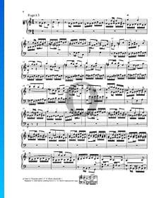 Fuga C-Dur, BWV 870