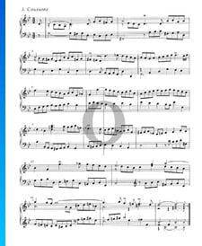 Suite inglesa n.º 3 en sol menor, BWV 808: 3. Courante