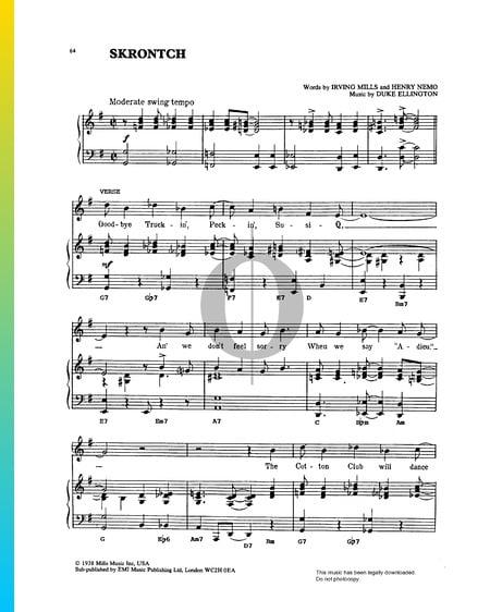 Skrontch Sheet Music