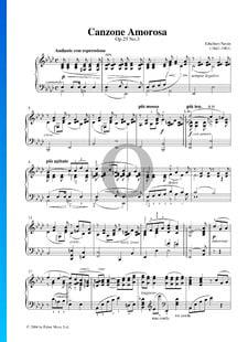 Canzone Amorosa, Op. 25 n.º 3