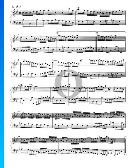 Suite Française No. 2 Do mineur, BWV 813: 4. Air Partition