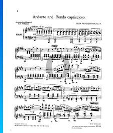 Andante y rondó caprichoso, Op. 14