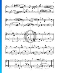 Variations et Fugue sur un Thème de Handel, Op. 24: Variation XVII
