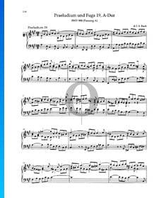 Praeludium A-Dur, BWV 888