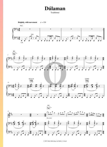 Dulaman Musik-Noten