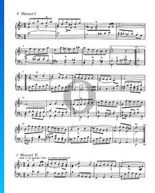 Suite Française No. 1 Ré mineur, BWV 812: 4./5. Menuet I et II