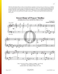 Sweet Hour of Prayer (Medley)