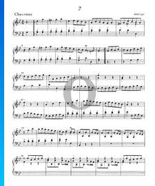 Suite/Konzert g-Moll, HWV 453: 3. Chaconne