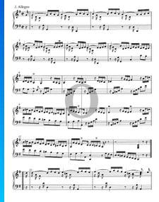 Suite en Sol Majeur, HWV 441: 2. Allegro